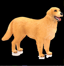New ListingGolden Retriever Dog Figurine Pet Gold Tan Mojo Toy Canine Standing Canine New