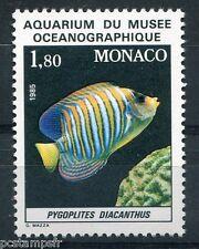 MONACO 1985, timbre 1483, POISSON PYGOPLITES DIACANTHUS, neuf**