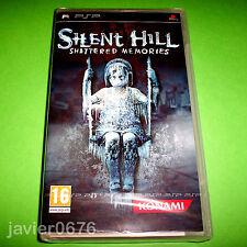 Silent Hill Shattered Memories Sony PSP Portable Pal-españa Español Konami