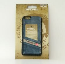 Diesel Pluton Pocket Snap Case 18313 for iPhone 6, Silikon/Denim used, OVP