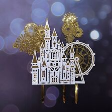 Princess Prince Castle Birthday Cake Toppers set AU STOCK