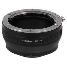Fotodiox Objektivadapter Leica R Linse für Fujifilm X Kamera