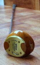 Vintage Rh Wilson 4300 Tour Block Staff Jp-5 Persimmon Wood #2 Steel Shaft