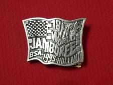 1995 World Scout Jamboree USA Contingent Belt Buckle - Holland