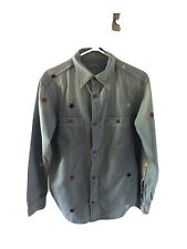 Kapital Chambray Work Shirt (Star Embroidery) | Size 2 (US Small) | Made in Japa