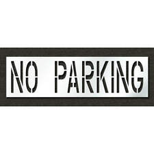 RAE STL-116-72432 Pavement Stencil,No Parking,24 in