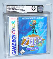 Legend of Zelda Oracle of Ages - Nintendo GameBoy Color GBC SEALED NEW VGA 85