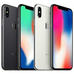 Apple iPhone X - UNLOCKED - 64/256GB - ALL COLOURS - Very Good Condition