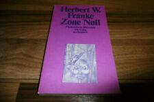 Herbert W. Franke -- ZONE NULL // Phantastische Bibliothek # 35 / 1980