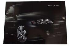 New Holden Commodore VY Ute Sales Brochure Memorabilia SS S V6 V8 LS1