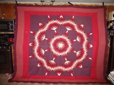 BEAUTIFUL KING SIZE MARTHA STEWART STAR QUILT, REVERSIBLE   #60 - REDUCED!!