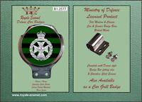 Royale Military Car Bar Badge - THE ROYAL GREEN JACKETS - B1.2577