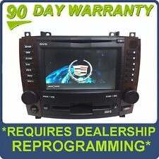 Cadillac CTS Navigation BOSE Radio DVD 6 Disc Changer MP3 CD Player Wood Trim
