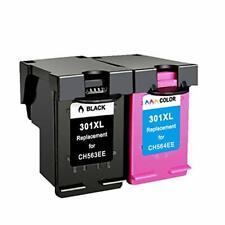 Multipack Rigenerate 301XL CH563EE + CH564EE Per HP 1050,2050,2050S,1000,3050