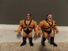 DEMOLITION AX SMASH wwf TAG TEAM wrestling HASBRO figures BLUE CARD