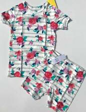 NEW BABY GAP Kids Girl's Two Piece Short Vintage Floral PJ Pajama Set 2T 2 $27