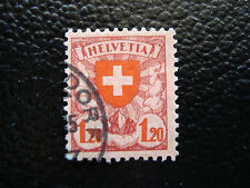 SUISSE - timbre yvert et tellier n° 209 obl (A14) stamp zwitzerland