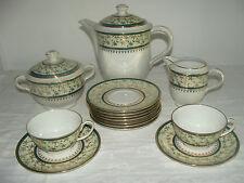 ANCIEN SERVICE A CAFE EN PORCELAINE LIMOGES CH. FIELD HAVILAND NON COMPLET