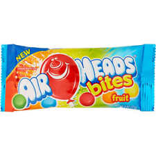 Airheads Bites Candy, Fruit, 2 oz, 24 ct