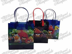 Rovio Angry Birds Party Favor Supplies Goody Loot Gift Bags [12ct]