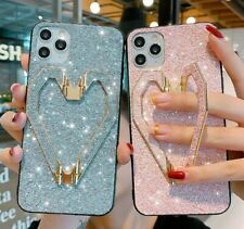 💎📱 iPhone Bling Heart Pink/Silver Case X/XS/XS Max/XR/11/11 Pro/11 Pro Max