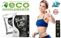 Black Latte Dry Drink Black Latte Charcoal - Pour contrôler votre poids