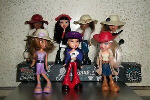 McDonald's Bratz Lot of 7 dolls  Happy Meal Dolls guc