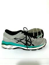 ASICS Gel Kayano 24 Womens Running Shoes Sneakers Gray Blue Size 8.5 T799N