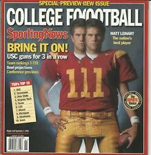 Sporting News Magazine College Football Special Preview Issue September 2005