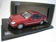 Mercedes-Benz S500 (W220)  in met. rot  IXO  Maßstab 1:43  OVP  NEU