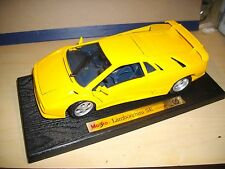 NEW Boxed 1:18th Scale Diecast Car Lamborghini se 30y SPECIAL EDITION Maisto