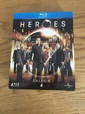 Coffret Série HEROES Blu-ray Saison 4 Complète
