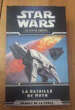 NEUF CARTES STAR WARS LCG EXTENSION @ PAQUET FORCE @ LA BATAILLE DE HOTH !!!