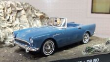 1:43 Scale Lake Blue Sunbeam Alpine Tiger Series Mark 2 Convertible Model Car