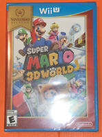 Super Mario 3D World (Nintendo Wii U, 2013) Brand New Sealed  Fast S&H
