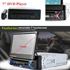 7inch HD Touch Screen 1DIN FM Radio Music MP5 CD/DVD Player with Remote Control