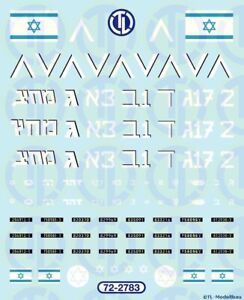 2783 - Decals Israel - IDF 1:72