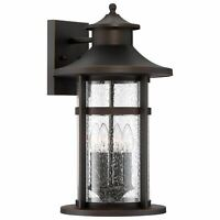 """The Great Outdoors 72453-143C Kamstra 1 Light 21/"""" Tall Outdoor Bronze"""