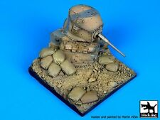 Black Dog 1/35 Destroyed M3A1 Stuart Light Tank Diorama Base D35027