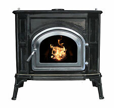 Breckwell SPC50 Cast Iron Pellet Stove w/Beautiful Enamel Finish! SHIPS FREE!!!