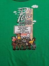 Paul Frank Las Vegas With Julius,Worry,Pufak,Skurvy & Clancy XL Green Tee-Shirt