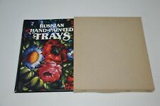 BOOK Russian Hand-Painted Trays decorative folk art floral painting design color