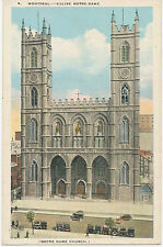 "CANADA 1910 VF mint coloured pc ""MONTREAL (Québec), Canada, Eglise Notre Dame"""