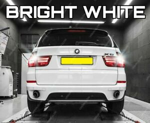 For BMW X5 E70 2007-13 Bright White LED Reverse Light Bulbs Upgrade Canbus