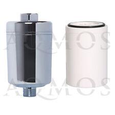 1 Duschfilter Chrom + 1 Wechselfilter Kalkfilter Allergie Reisefilter Chlor Rost