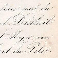 Edouard Dutheil De La Rochère Aubert Du Petit-Thouars 1870