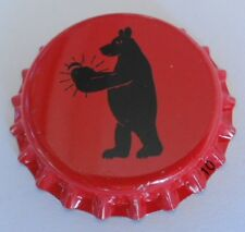 Netherlands Unused Bottle Cap Bearcider Craft Apple Cider Kronkorken Chapa