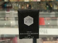 OMBRE ROSE PARFUM SPLASH BY JEAN CHARLES 5 ML (HARD TO FIND)
