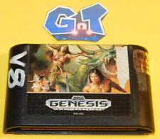GOLDEN AXE II Sega Genesis Cart Only: Cleaned/Tested Cart
