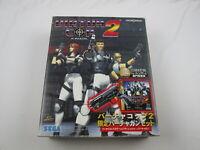 Sega Saturn Gun Controller with virtua cop 2 Japan Ver Segasaturn